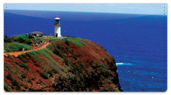 Lighthouse Checkbook Cover