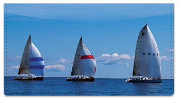 Sailing Checkbook Cover