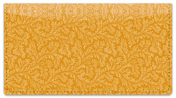 Gold Leaves Checkbook Cover