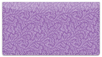 Violet Leaves Checkbook Cover
