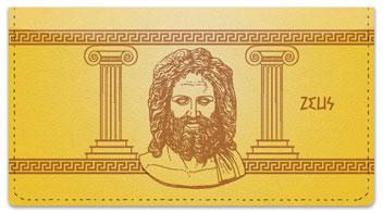 Greek God Checkbook Cover