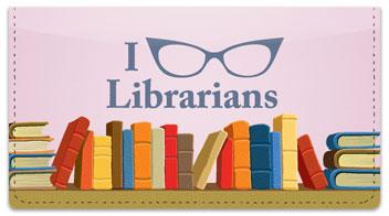 Librarian Checkbook Cover