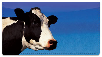 Dairy Cow Checkbook Cover