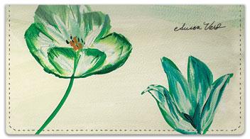 Susan Varo Floral Checkbook Cover