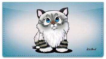 Cat Series 2 Checkbook Cover