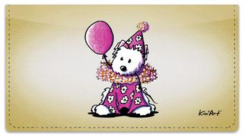 Clown Series Checkbook Cover