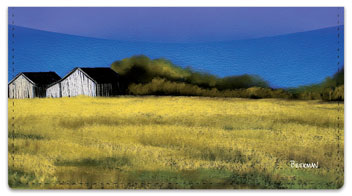 Blue Sky Barn Checkbook Cover