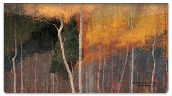 Aspen Painting Checkbook Cover