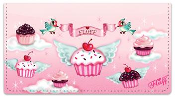 Cupcake Heaven Checkbook Covers