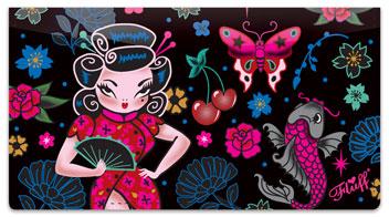 Geisha Girl Checkbook Covers
