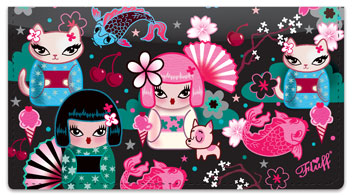 Kimono Cutie Checkbook Covers