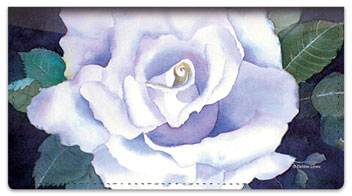 Rose Set Checkbook Covers