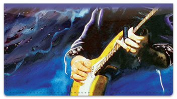 Guitar Art 1 Checkbook Covers