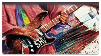 Guitar Art 2 Checkbook Covers