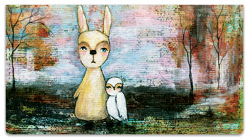 Whimsical Critter Checkbook Covers
