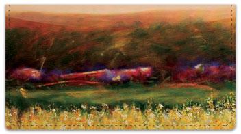 Grissom Landscape Checkbook Cover