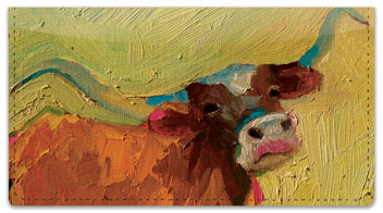 Standlee Farm Animal Checkbook Cover