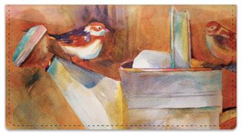 Kay Smith Bird Checkbook Cover