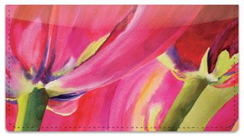 Kay Smith Tulip Checkbook Cover