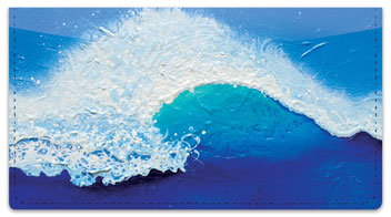 Cianelli Seascape Checkbook Cover