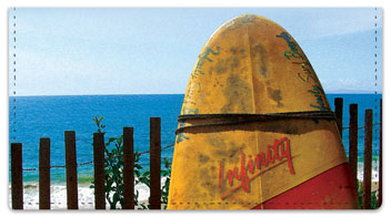 Bulone Beach Checkbook Covers