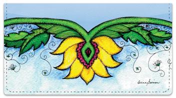 Flower Garden Checkbook Covers