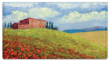 Tuscan Hills Checkbook Covers