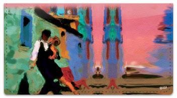 Tango Checkbook Cover