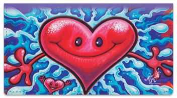 Happy Smiles Checkbook Cover