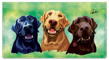 Labrador Retriever Checkbook Cover