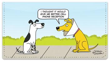 Scrivan Dogs Checkbook Cover