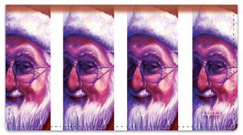 Grissom Christmas Checkbook Cover