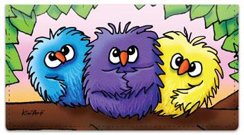 Bird Series Checkbook Cover