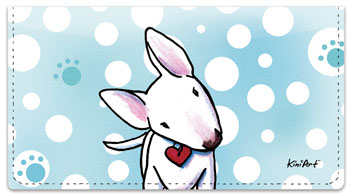 Bull Terrier Series Checkbook Cover