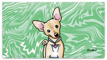 Chihuahua Series 1 Checkbook Cover