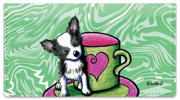 Chihuahua Series 2 Checkbook Cover