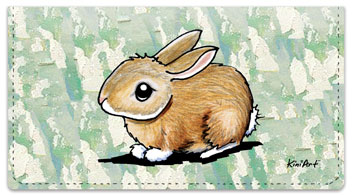 Rabbit Series Checkbook Cover