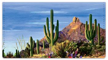 Madaras Cactus Checkbook Cover
