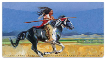 Madaras Native American Checkbook Cover