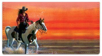 Madaras Western Checkbook Cover