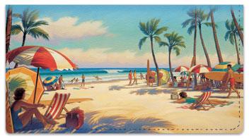 Florida Art Checkbook Cover