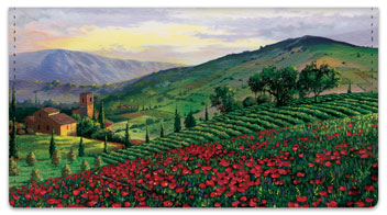 Tuscany Checkbook Cover