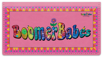 Boomer Babes Checkbook Cover