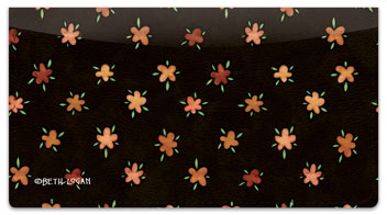 Country Rooster Checkbook Cover