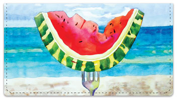 Kay Smith Fruit Checkbook Cover