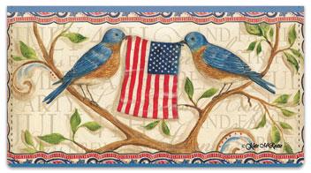 McRostie Americana Checkbook Cover