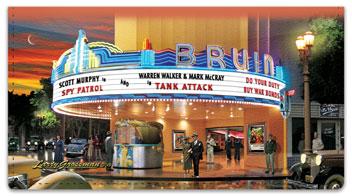 Movie Palace Checkbook Covers