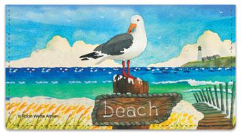 Altman Seagull Checkbook Cover