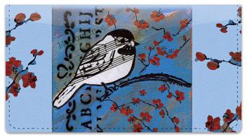 Bird Song Checkbook Cover