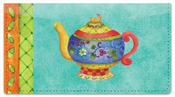 Zipkin Tea Checkbook Cover